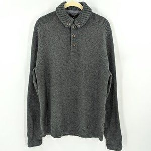 Ted Baker Wool Blend Collared Pullover Sweater 4